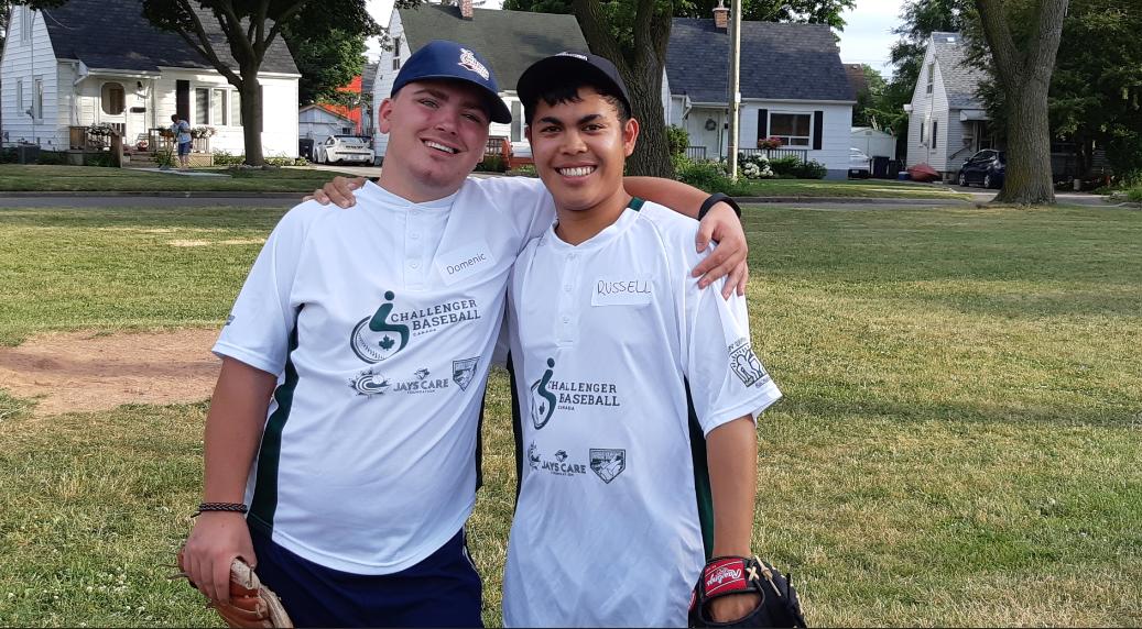 challenger baseball 2018 - pair